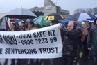 Thousands of people are set to join a nationwide series of courthouse rallies today to protest against child abuse in New Zealand, as Tania Shailer and David Haerewa face sentencing for the death of Moko Rangitoheriri.