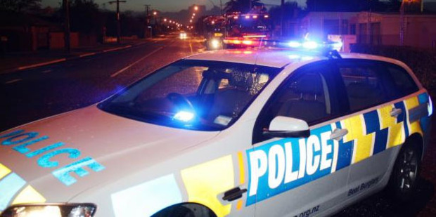The police car was stolen during a traffic stop. Photo / File