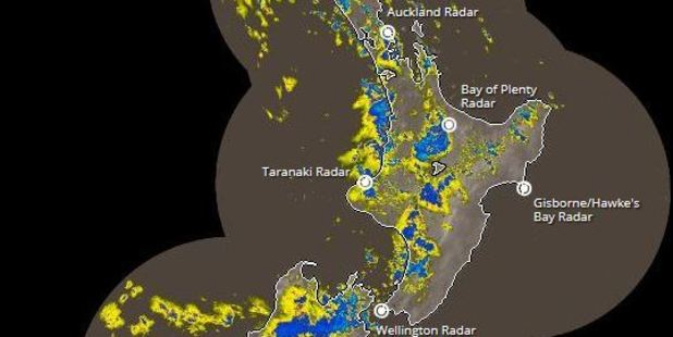 Loading A complex low pressure system is moving over the Tasman Sea and is set to hit New Zealand. Photo / MetService