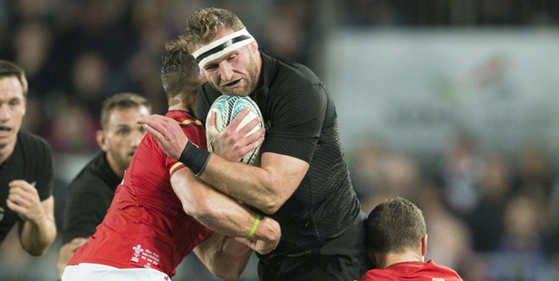 Loading All Blacks skipper Kieran Read.
