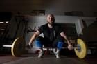 NZ weightlifter Richie Patterson. Photo / Brett Phibbs