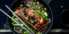 Ginger and soy salmon recipe. Picture / Babiche Martens.