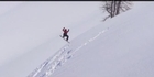 Watch: Crash of the Day: Backcountry snowboarding