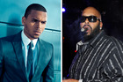 Chris Brown and Suge Knight.