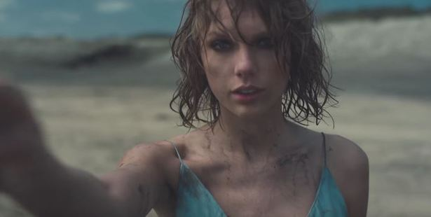 Taylor Swift on Bethells Beach in her video Out of The Woods.