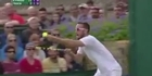 Watch: Watch: Wimbledon tennis star rages at umpire - 'you're terrible'