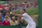 Source: TVNZ  Viktor Troicki let the chair umpire - and the rest of the world - know exactly how angry he was about a key call one point from the end of his five-set loss at Wimbledon overnight.