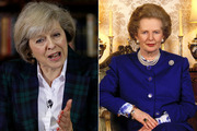 Theresa May, left, is the favourite to become the new leader of the Tory Party and is seen by many as the new Margaret Thatcher.