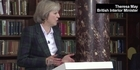 Watch: Watch: Britain's new Thatcher - Theresa May launches PM bid