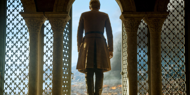 After his mother set the city on fire, Tommen only saw one way out. Photo / HBO