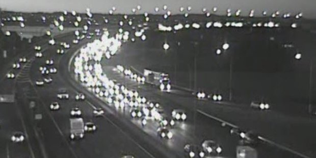 Auckland motorists can expect delays on motorways this morning. Photo / NZTA