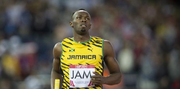Usain Bolt. Photo / Greg Bowker