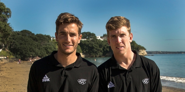RIO-BOUND: Blair Tuke (left) headlines a 16-strong Northland contingent heading to the Rio Olympics. With him is his 49er sailing partner Peter Burling, of Bay of Plenty. PHOTO/GETTY IMAGES