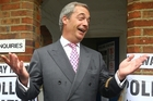 Nigel Farage was one of the founders of UKip, a party whose main goal is to leave the EU. Photo / AP