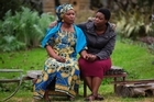 Congolese refugees Lema Shamamba, left, with her daughter Amani Irenge.      07   July   2016    New Zealand Herald photograph by Brett Phibbs