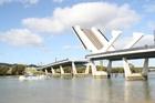 The $33 million Te Matau A Pohe bridge.