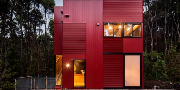 Red House by Crosson Architects. Photo / Simon Devitt