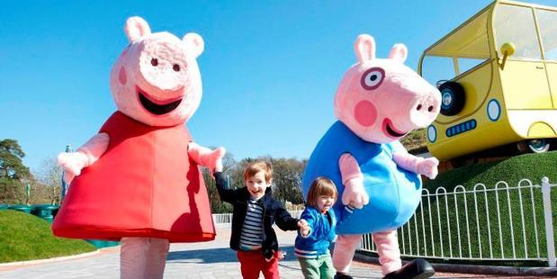 Peppa Pig World is part of Paultons Park in Hampshire. Photo / Facebook, Paultons Park