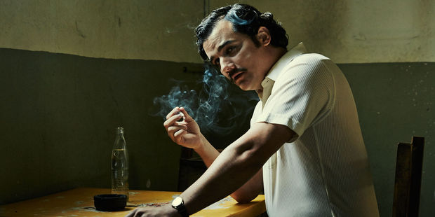 Narcos tells the story of the cartel from the early 1970s. A second series is due for release in September.