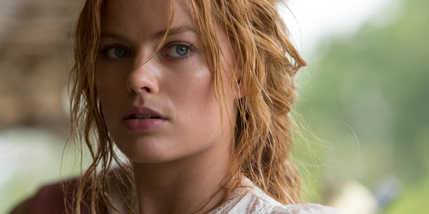 Margot Robbie as Jane in Tarzan.