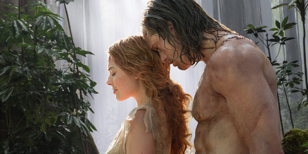 Alexander Skarsgard, Margot Robbie as Tarzan and Jane in the new Tarzan movie.