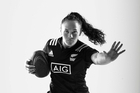 Olympic athlete portrait. New Zealand women's sevens rugby player Portia Woodman. Rio Olympics. 25 April 2016 New Zealand Herald Photograph by Brett Phibbs.