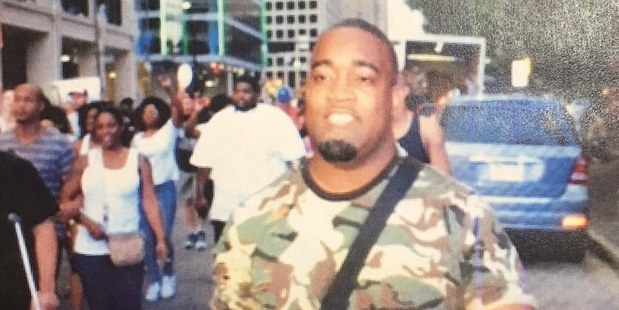 Mark Hughes is furious about being publicly pictured as a suspect in the Dallas shooting. Photo / Supplied