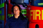 Firefighter Anne Cairns helped save two people from the Manawatu River. Photo / Gary Rodgers