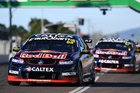 Jamie Whincup won for an eighth time in Townsville, with Kiwi team-mate Shane Van Gisbergen second.