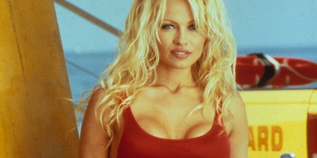 Pamela Anderson in Baywatch.