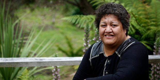 Service manager Ruahine Albert, from Te Whakaruruhau Inc, a Maori women's refuge. Photo / File