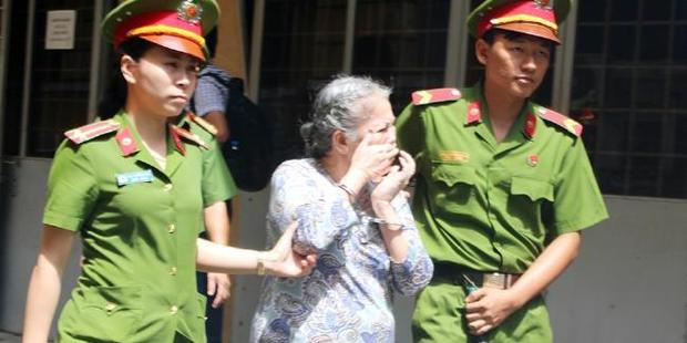 Nguyen Thi Huong claimed someone else gave her the heroin hidden in soap bars.