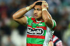 Kirisome Auva'a of the Rabbitohs. Photo / Getty