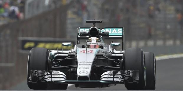 British Formula 1 driver Lewis Hamilton at the Brazilian Grand Prix. Photo / Getty Images