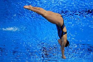 New Zealand diver Elizabeth Cui. Photo / Getty