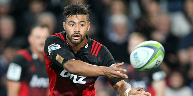 Richie Mounga of the Crusaders. Photo / Getty