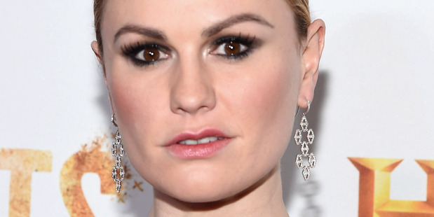 Anna Paquin has urged fans not to share photos of her twins taken during an Independence Day parade. Photo/Getty