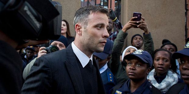 Loading Oscar Pistorius is in court today to learn his fate. Photo / Getty