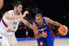 Tony Parker of France during the an international against Serbia. Photo / Getty Images