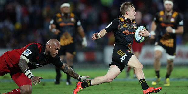 Damian McKenzie and Nemani Nadolo both had strong performances this week. Photo / Getty