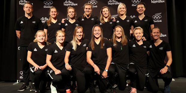 The New Zealand Womens Football Team heading to the Olympics. Photo / Getty
