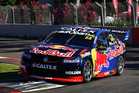 Jamie Whincup during practice ahead of the Townsville 400. Photo / Getty Images