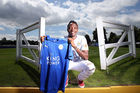 Leicester City unveil new signing Ahmed Musa. Photo / Getty