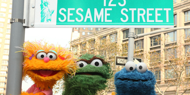 Sesame Street is among the casualties of the Four rebranding. Photo / Gettyimages