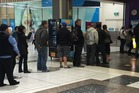 People lining up for Lotto tickets last week. Photo / Supplied