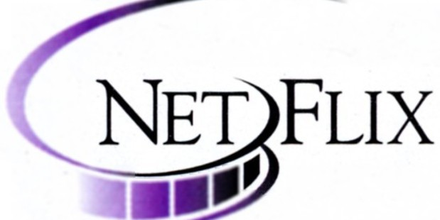 Netflix's first logo in 1997.