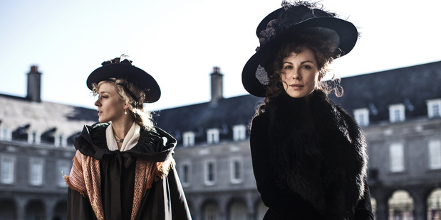 Kate Beckinsale and Chloe Sevigny in Love and Friendship. Photo / Supplied
