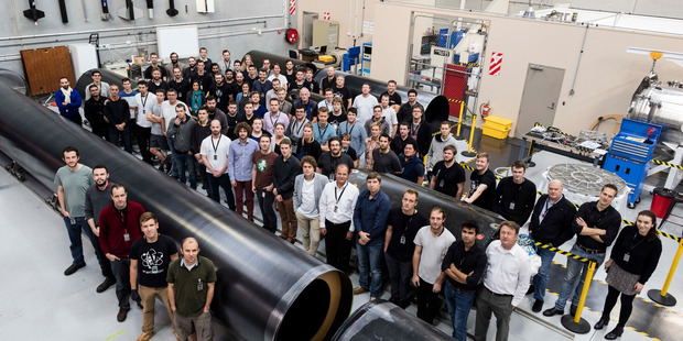 Rocket Lab celebrate their tenth anniversary. Photo / Supplied