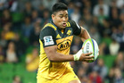 Julian Savea of the Hurricanes runs with the ball. Photo / Getty Images