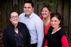 Tiaria Fletcher, Will Flavell, Georgina Papa and Paula Bold-Wilson are local board candidates. Photo / Dean Purcell